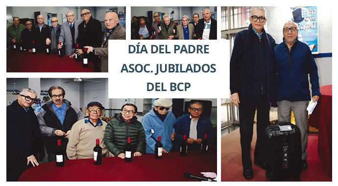 APOYO HOMENAJE DÍA DEL PADRE 2018 - ASOC. DE JUBILADOS DEL BCP