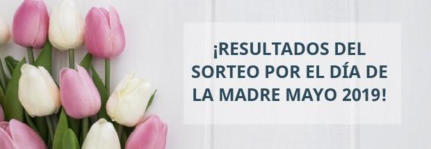 RESULTADOS SORTEO DÍA DE LA MADRE 2019