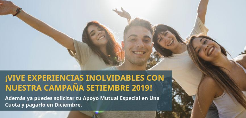 ¡DISFRUTA DE LA PRIMAVERA CON NUESTRAS PROMOCIONES SETIEMBRE 2019!