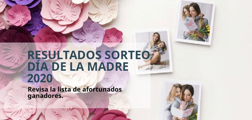 RESULTADOS SORTEO DÍA DE LA MADRE 2020